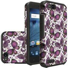 Slim Hybrid Case Phone Cover for Consumer Cellular ZTE Avid 557