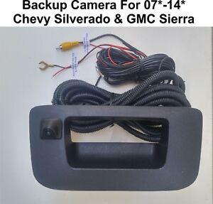 Backup Camera for Chevy Silverado & GMC Sierra 2007-2014 with aftermarket radios