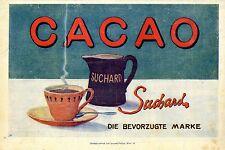 Cacao Suchard Die bevorzugte Marke c.1911