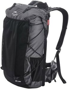 Naturehike 405L Internal Frame Hiking Backpack for Outdoor Camping and Travel