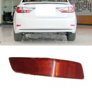 1X Car Rear Bumper Right Side TailLight Reflector Cover For Lexus ES250 2013-17