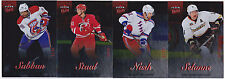 13-14 Fleer Showcase Rick Nash /99 Red Medallion Ultra Rangers 2013