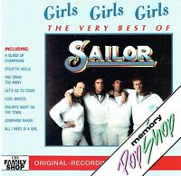 (CD) Sailor ‎-Girls Girls Girls - The Very Best Of Sailor - A Glass Of Champagne