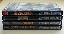 1 x Sega Saturn Replacement DVD Game Case + Cover Art