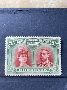 RHODESIA - BRITISH SOUTH AFRICA COMPANY SG 159