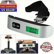 Handheld Portable Electronic Digital Luggage Scale Hanging Travel 110 LBS 50 KG