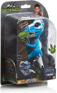 WooWee Fingerlings Untamed IRONJAW T-REX Blue Toy Dinosaur Figure
