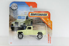 A.S.S Matchbox NEU 2019 ´51 Willys Jeep Pickup 4x4 MBX Constucti 15/20 GCF64 OVP