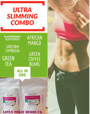Slimming, Extreme Weight loss,  Green coffee beans, Garcinia Real results 30pill