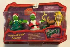 Dr. Seuss' How The Grinch Stole Christmas! Whoville Figurine Collection 630034