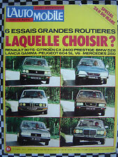 L'AUTOMOBILE 1977 GUIDE 24 H DU MANS / MATRA SIMCA RANCHO / CITROEN CX GTI