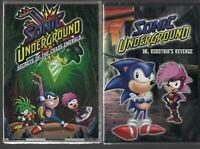 Sonic Underground: Secrets of Chaos Emerald DVD + Dr. Robotnik's Revenge [FREE]