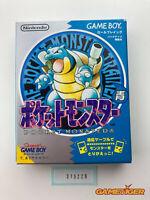 POCKET MONSTER Blue Pokemon Nintendo Gameboy JAPAN Ref:315229