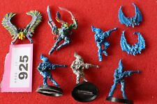 Games Workshop WARHAMMER 40k Eldar piombando Hawks baharroth METALLO FIGURE LOTTO