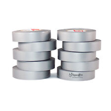"TapesSupply 10 Rolls Pack Gray Electrical Tape 3/4"" x 66 ft"