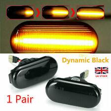 Dynamic LED Side Marker Repeater Indicator Light For Nissan Opel Vivaro Movano