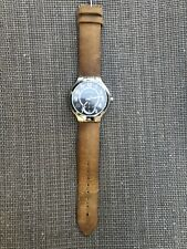 Philip Stein Wellness Watch Classic Round with Camel Strap (Gently Used)