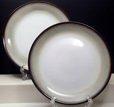 Sango Nova Black Salad Plates 7-5/8\  Set of 2 Black Rim & Nova Black Sango China \u0026 Dinnerware | eBay