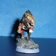 Warhammer Dire Wolves Pack Leader Painted - D&D Undead Giant Wolf
