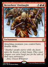 MTG BERSERKERS' ONSLAUGHT FOIL - ASSALTO DEI BERSERKER - DTK - MAGIC