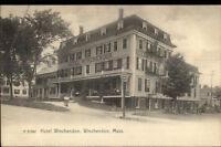 Winchendon MA Hotel Winchendon c1905 Postcard