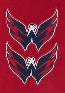 WASHINGTON CAPITALS TEAM LOGO SHOULDER  JERSEY PATCH LOT OF TWO HOME JERSEY RED