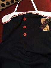 Rock Steady Sailor Dress XL BNWT Rockabilly Wiggle Pin Up Nautical Ahoy