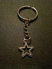 Wonder Woman Star Punk Rock Star Style Key Chain Charm Pendant Gift