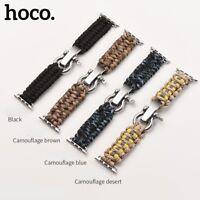 HOCO Nylon Watchband Strap for Apple Watch Series 4 Outdoor Lifesaving strap