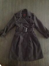 Yoki Girls Black Winter Maxi Coat Jacket 3T