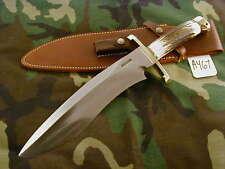 "RANDALL KNIFE KNIVES #12-11""LG.SASQUATCH,#712,BLH,BL.-B.S,STAG,BCBBR,WT   #A467"