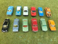 Majorette Miniature Diecast pack / lot de 12 voitures Peugeot BMW Mercedes Golf