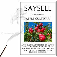 2 X Apple Cultivar Citrus 20 Incense Joss Sticks Agarbatti Crisp Rose By Saysell
