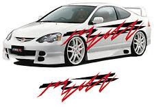 (207) voiture graphiques, véhicule vinyle graphique / stickers autocollants graphiques / véhicule