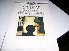 LIBRO RACCONTI DELL'IMPOSSIBILE E.A.POE INVITO AL LIBRO NEWTON 95