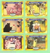 #D75.  DISNEY CLASSIC  STORY CARDS - SNOW WHITE , CARDS 1 to 6