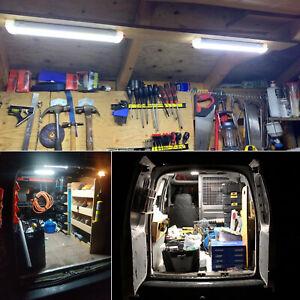 4* 108 LED Interior Light Strip Bar Car Van Bus Caravan ON/OFF Switch 12V 12VOLT
