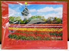 Prince Edwards Island Island Tulip Crop With Shore Glass Greeting Card New