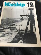 Warship Profile 12: IJN Kongo, Japanese Battleship 1912-1944 1971 CHIHAYA ABE