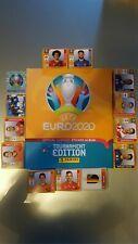 ALBUM + SET COMPLETO TUTTE FIGURINE PANINI EURO 2020 TOURNAMENT EDITION ITALIA