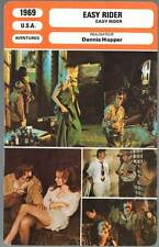 FICHE CINEMA : EASY RIDER - Peter Fonda,Dennis Hopper,A.Mendoza (mod.B) 1969