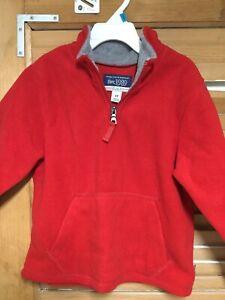 Childrens Place Boys Size 4T Quarter Zip Fleece Like Pullover
