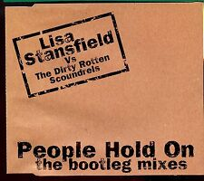 Lisa Stansfield Vs The Dirty Rotten Scoundrels / People Hold On -  Bootleg Mixes
