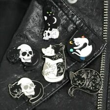 Pin Brooches Badges Backpack Cat Different Hard enamel lapel Bag Hat Goth Punk