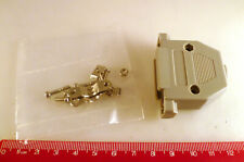 D Type Connector Backshell 23 Way Straight Entry Grey - Amiga OM510M