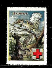 HICK GIRL- BEAUTIFUL MINT AUSTRALIA STAMP   SYDNEY   RED CROSS      D1122