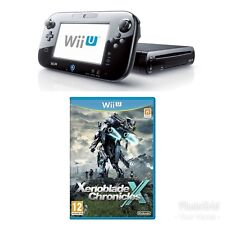 Nintendo Wii U Black Console + Xenoblade Chronicles Wii U Bundle - SPECIAL PRICE