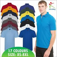 Pro Rtx New Mens Short Sleeve Poloshirt XS - 8XL Casual Workwear Polo Tshirt TOP