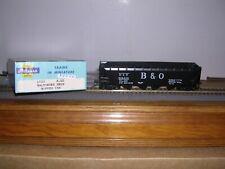 """Athearn #1733 B.& O. """"Black"""" Quad Hopper Car #532000 Built-up H.O. 1/87"""
