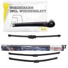 Heckwischerarm inkl. Wischer + Bosch Scheibenwischer Vorne VW Polo 9N_